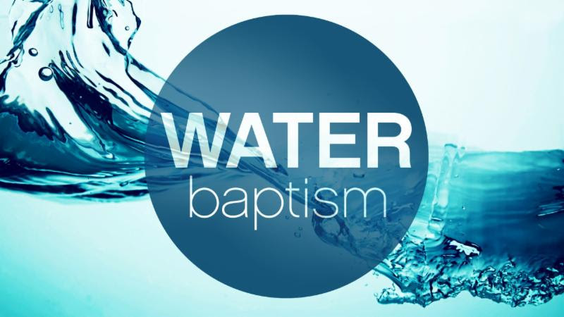 Water Baptism – Oct 29